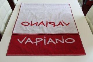 Logoga rätik Vapiano