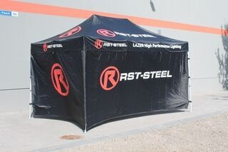 RST-Steel logoga telk