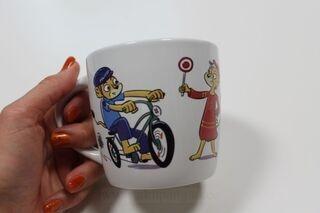 Kahvimuki kuvalla