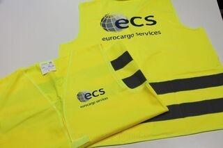 ECS logoga turvavest