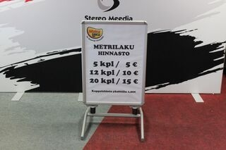 MetriLaku advertisement
