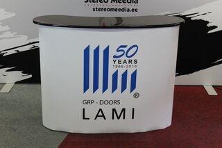 Mainospöytä GRP-Doors