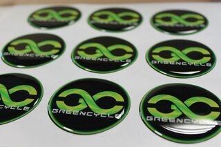 Greencycle reklaamkleebised
