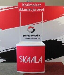 Esittelypöytä Skaala